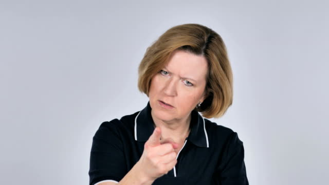 Portrait of Woman Gesturing Frustration and Anger