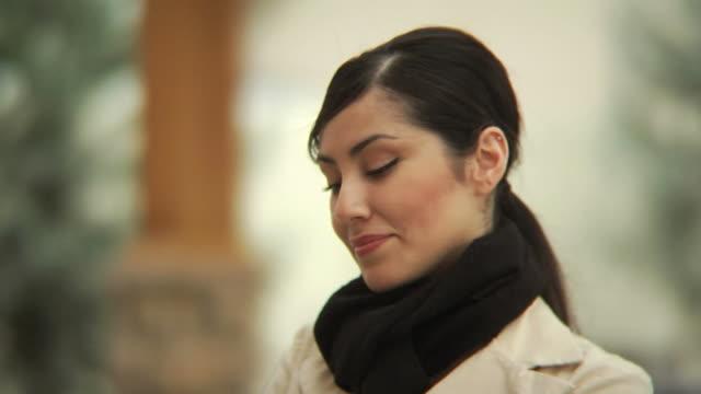 Portrait of woman video