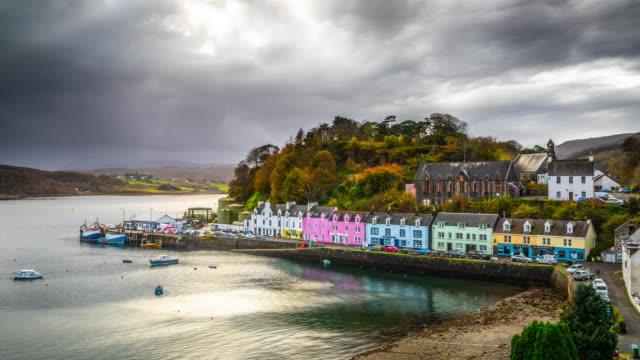 Portree, Isle of Skye, Scotland - Time Lapse