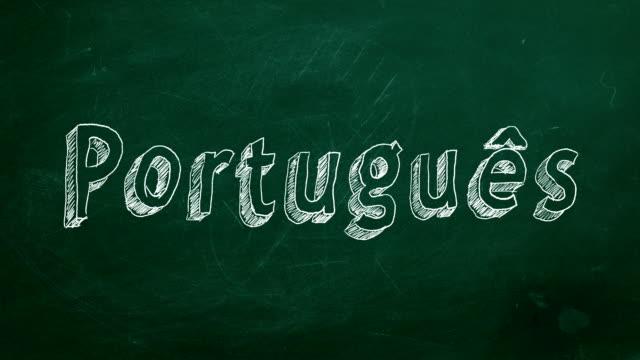 Conceito de aprendizagem Português - vídeo