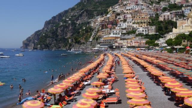 Positano, Amalfi Coast, Bay of Naples, Italy video