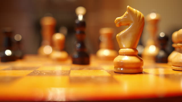 Positioning your knight to take over the chess game