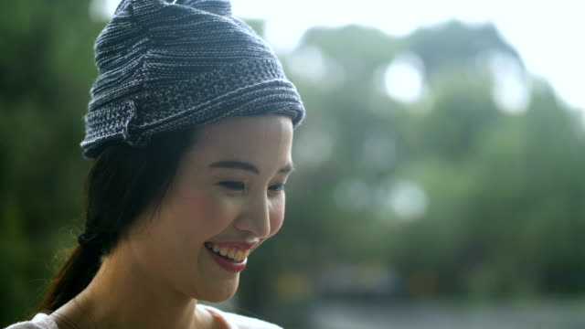 Positive Emotion : Portrait of a teenage girl. video