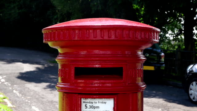 Posting a package in a Red postbox video