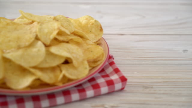 potato chips potato chips potato chip stock videos & royalty-free footage