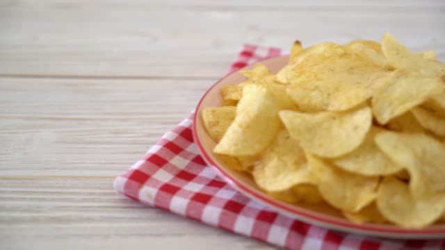 Batata chips - vídeo