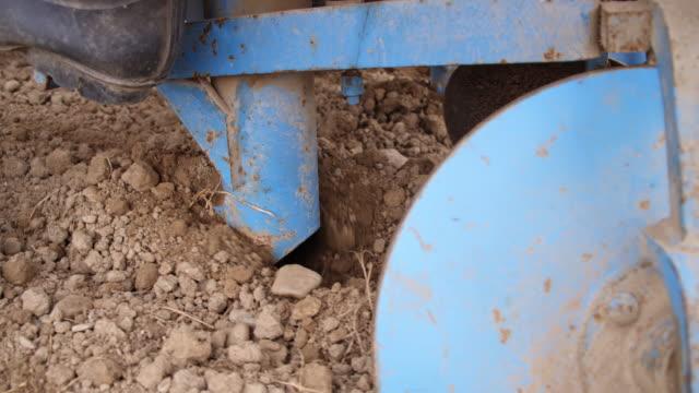 Potato planter sowing the potato video