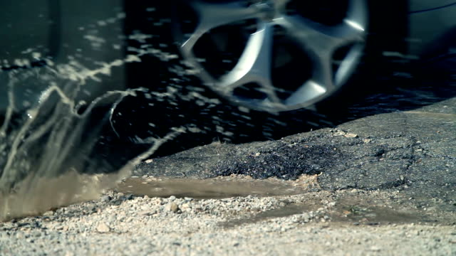 HD CLOSE UP: Pothole video