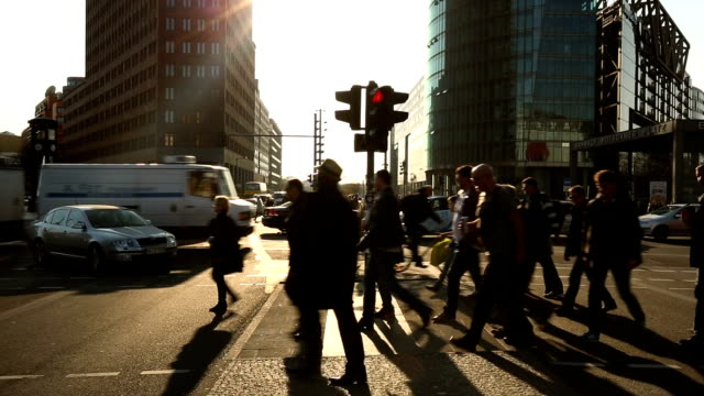 Potsdamer Platz in Berlin, Realtime video