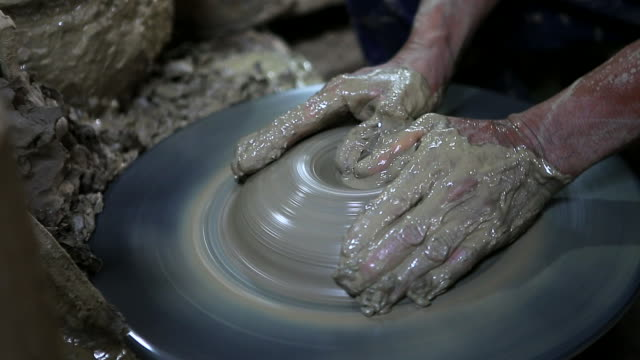 Pottery community at  Koh Kret, Nonthaburi Province. video