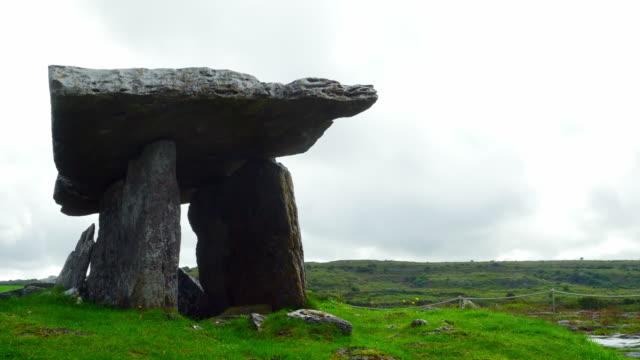Poulnabrone Dolmen In The Burren video