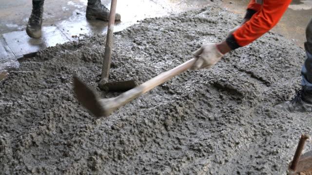 poured concrete floor - concrete architecture stock videos & royalty-free footage