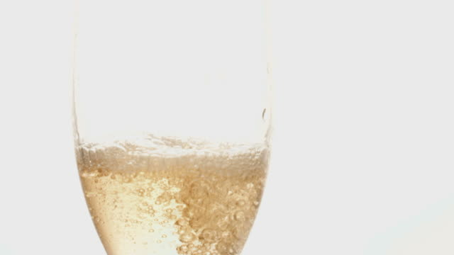 pouring a glass of champagne video