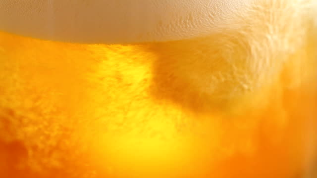 pouring beer video