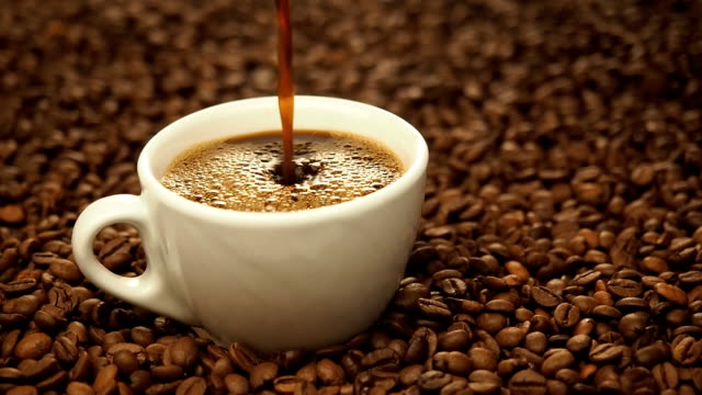 Pouring Black Coffee video