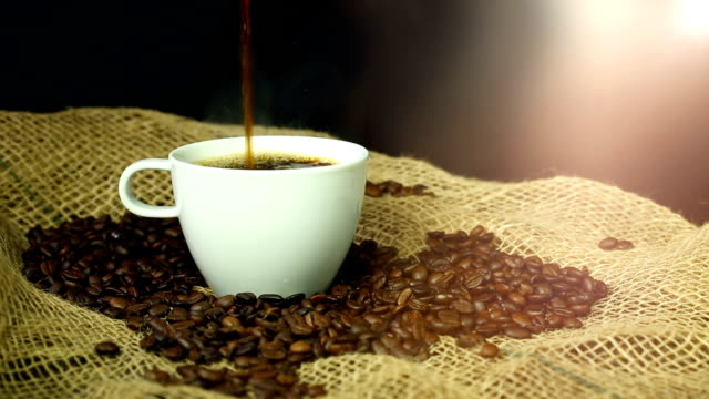 Pouring Coffee Pouring Coffee kaffee stock videos & royalty-free footage
