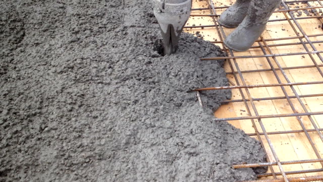 Pouring concrete video