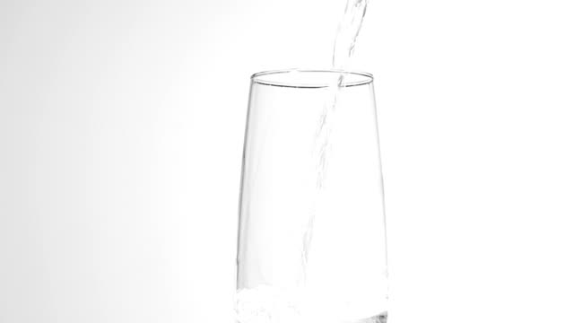 Pouring drink, slow motion video