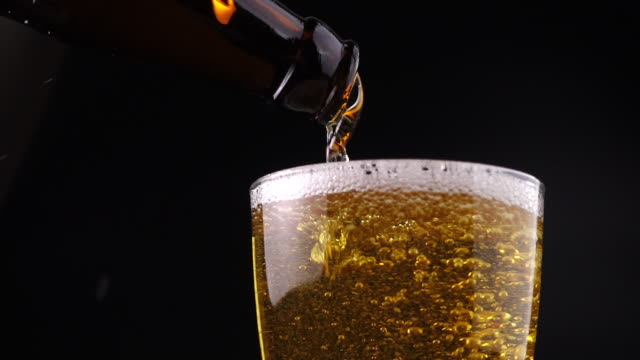 Pouring Fresh Beer video