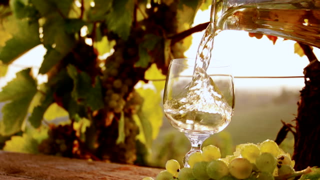 HD SUPER SLOW-MO: Pouring Fresh Wine video