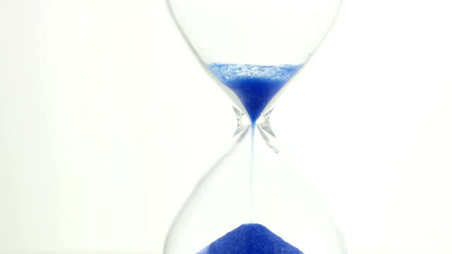 Pouring hourglass video