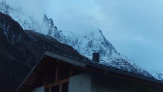 pov Blick durch Chamonix Dorf – Video