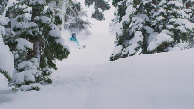 Powder turns make the heart happy video