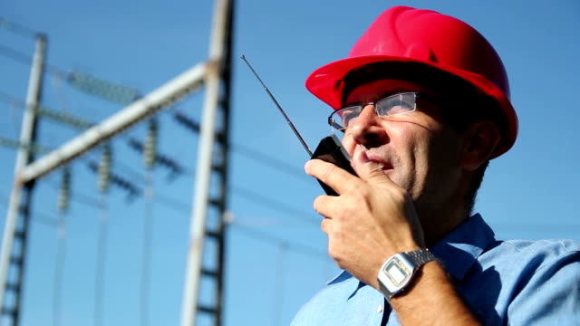 Power Lines and Engineer video