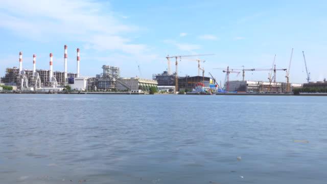 Power plant construction, Time lapse