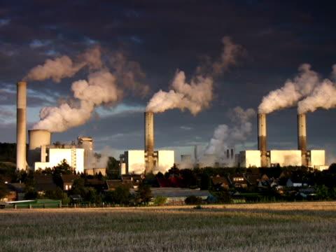 pal: power centrale - attrezzatura energetica video stock e b–roll