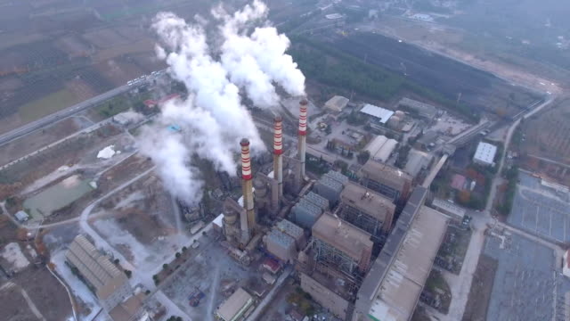 Power Plants and Smokes video