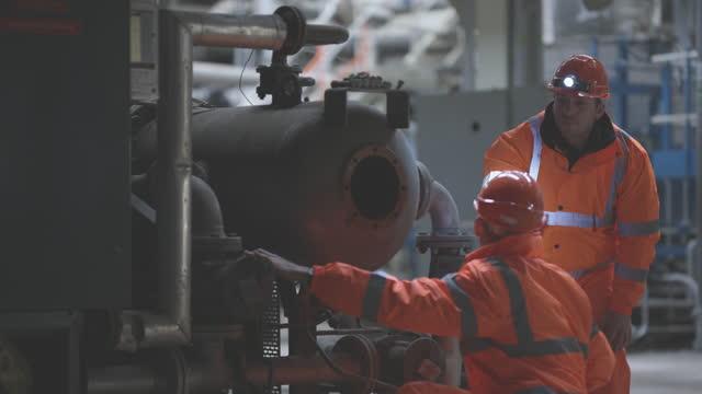 Power Station Engineering Team at Work video