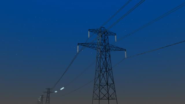 vidéos et rushes de power transmission - électricité