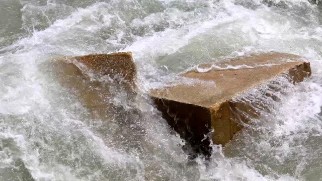 Powerful water video