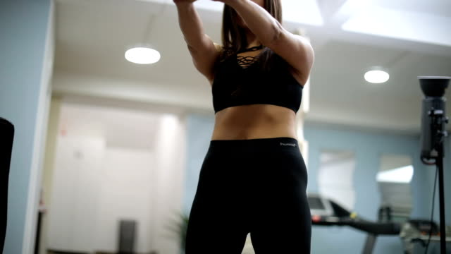 Practice with kettlebell video