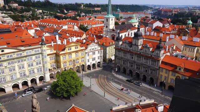 Prague Old City View