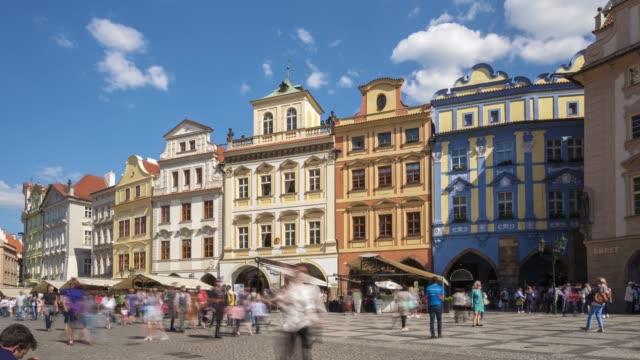 プラハ旧市街 - チェコ共和国点の映像素材/bロール