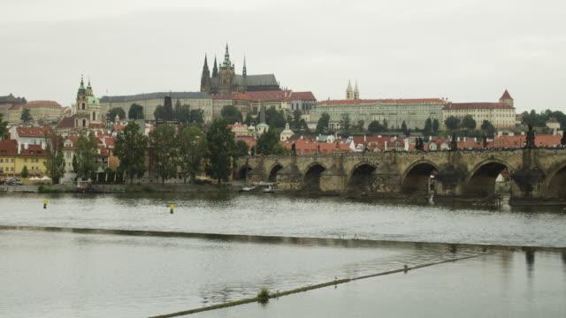 Prague timelapse Charles Bridge timelapse sorpresa stock videos & royalty-free footage