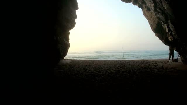 Praia da Adraga views on the coast of Portugal video