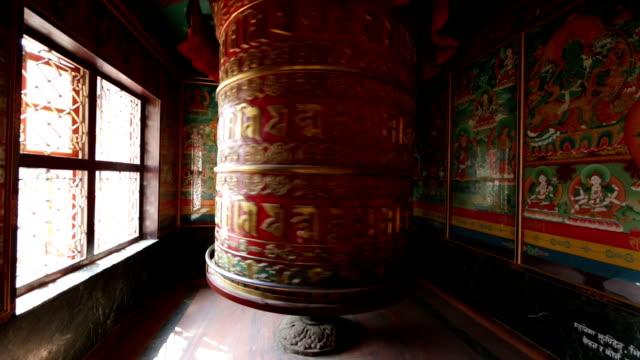 Prayer Wheel, Kathmandu, Nepal video