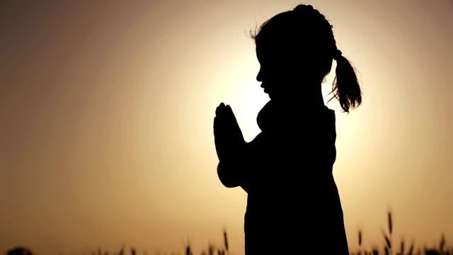 Praying Silhouette video