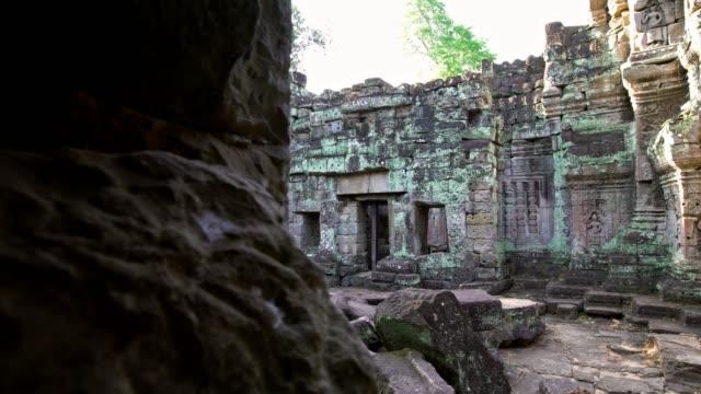 4K, Preah Khan, ancient monument ruins in Angkor Wat Thom. Cambodia landmark