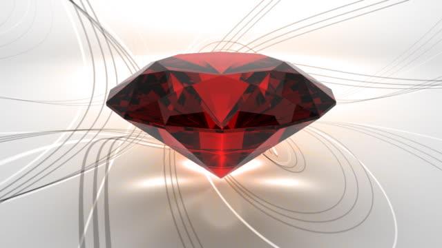 Precious Luxury Symbol With Classy Background video
