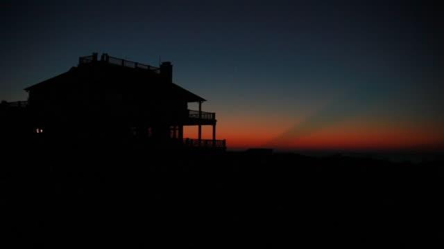 Pre-dawn time lapse video
