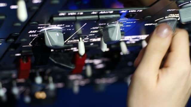 Preflight preparation of passenger aircraft sequence of shots