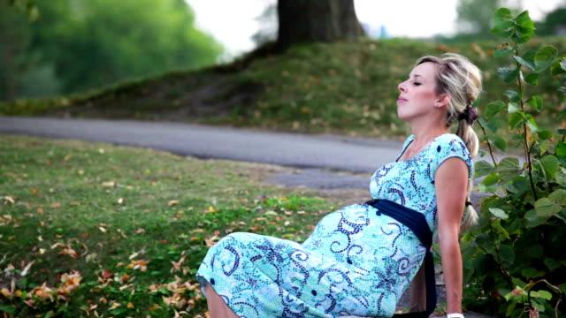 Pregnant woman video