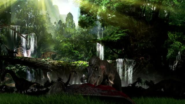 prehistorik paysage - Vidéo