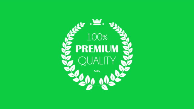 Premium Quality Laurel Wreaths set A set of animated vintage laurel wreaths on green screen quality control stock videos & royalty-free footage