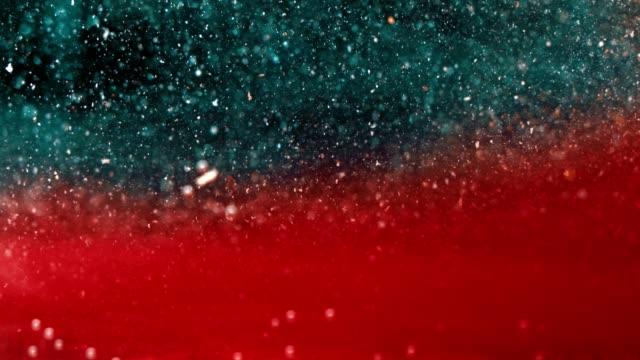 Qualité Premium | Fluide de précipité rouge en bas - Vidéo