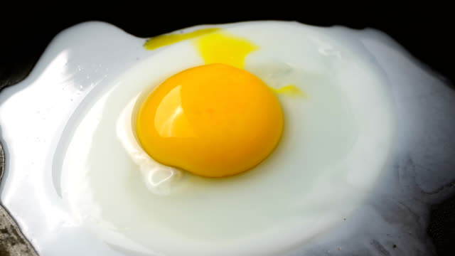 Preparation of Fried Eggs